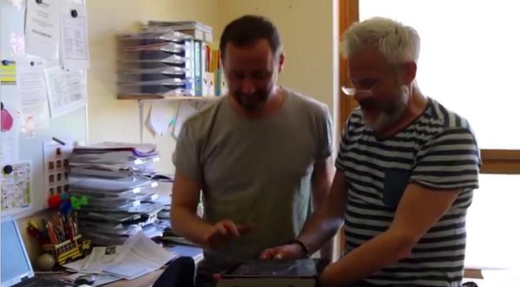Direktor Karsten Jahn macht mit im Video
