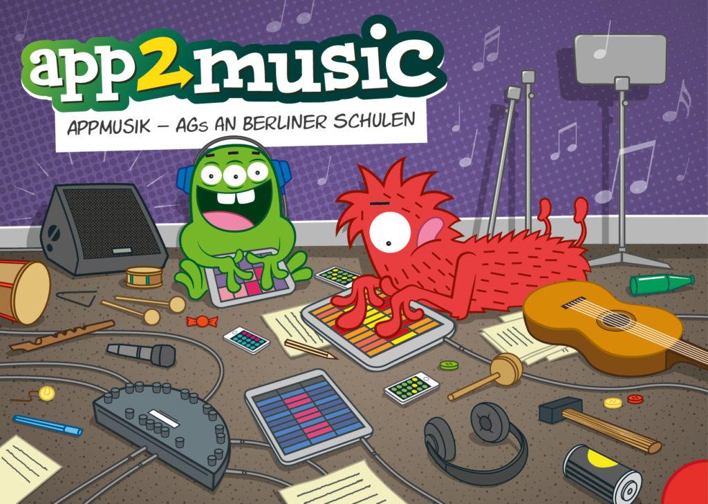 app2music-instrumentenwerkstatt mit apps